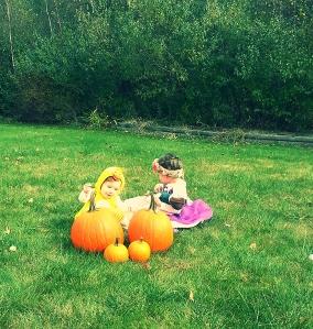 both pumpkins