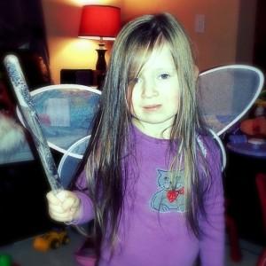 long haired fairy