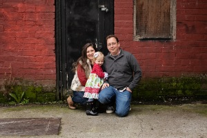 Jennifer and her family - captured by Jennifer Tibetts Photography
