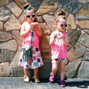 These headbands were the perfect match for these adorable outfits!